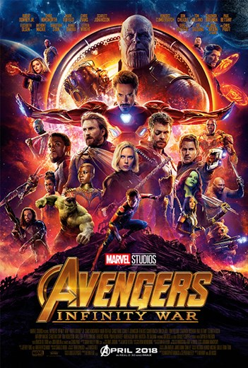 AVENGERS: INFINITY WAR now showing at Shelly Centre