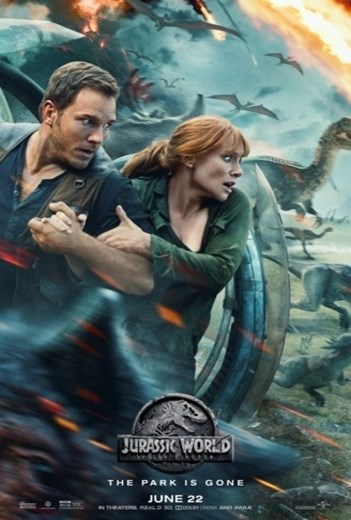 JURASSIC WORLD: FALLEN KINGDOM now showing at Cavendish Square