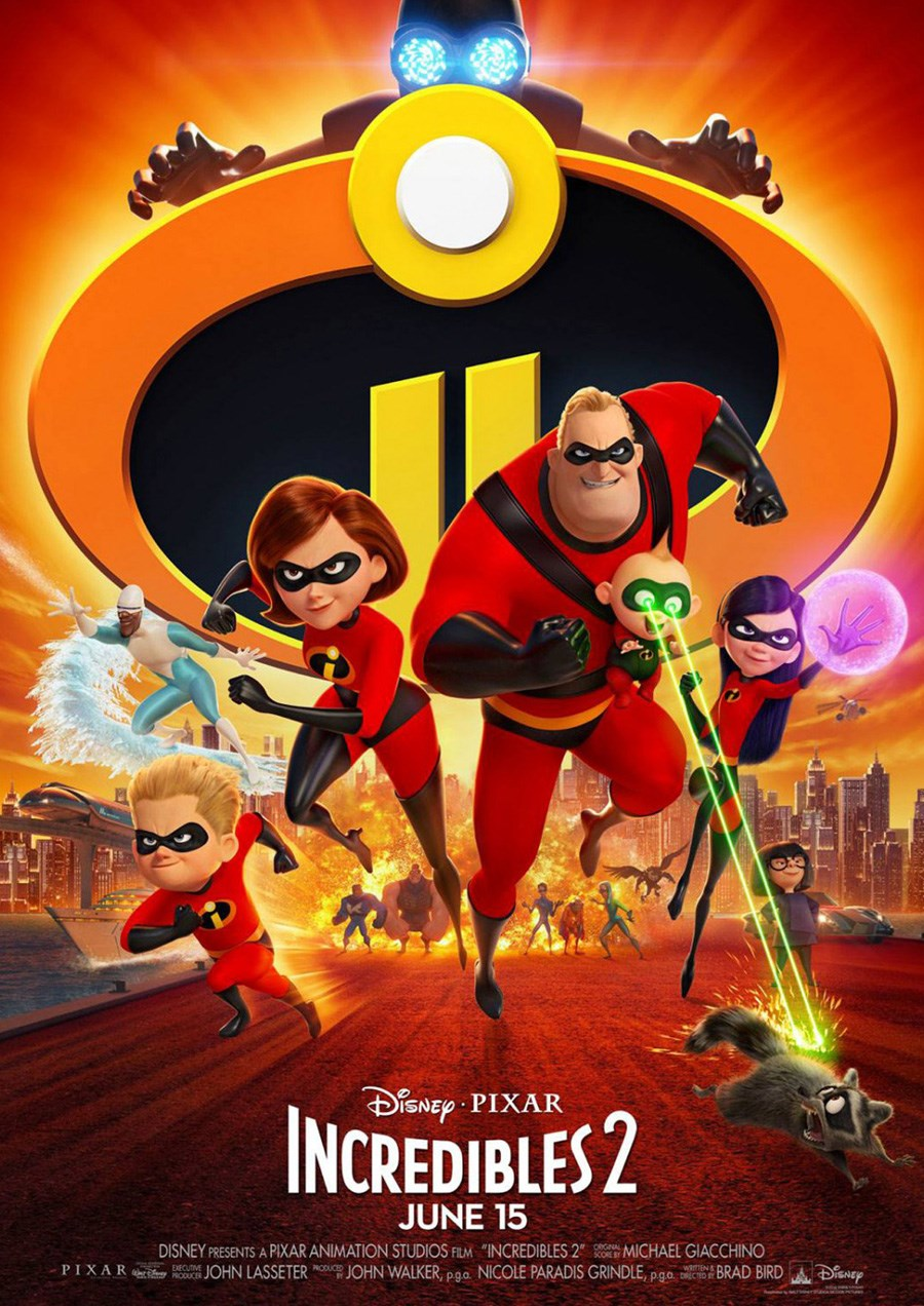 INCREDIBLES 2, THE now showing at Cavendish Square