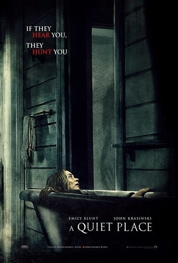 QUIET PLACE, A now showing at Cavendish Square