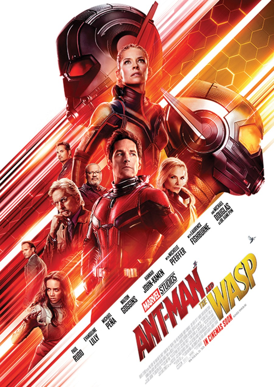 ANT-MAN AND THE WASP now showing at Cavendish Square
