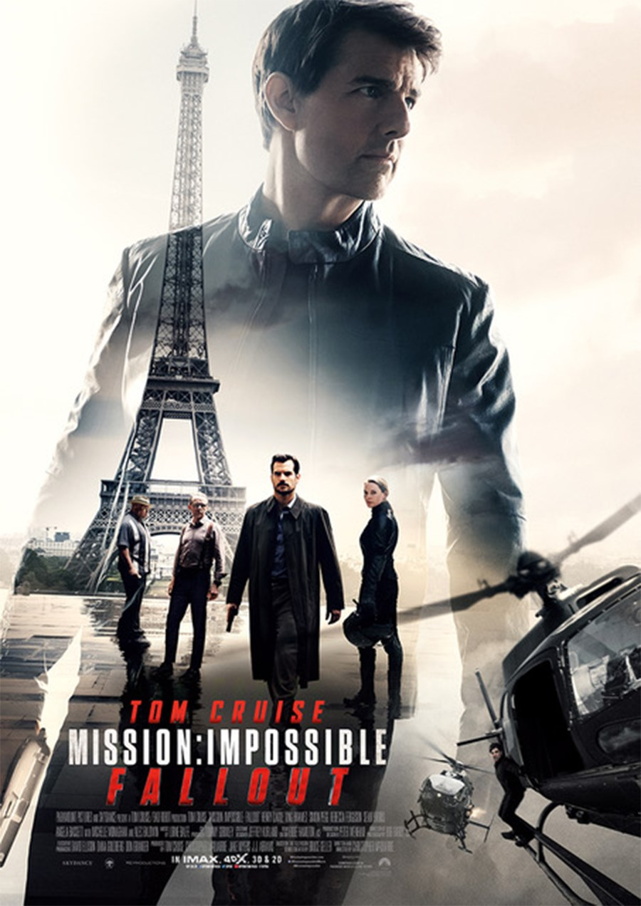 MISSION: IMPOSSIBLE: FALLOUT now showing at Cavendish Square