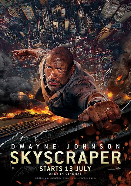 SKYSCRAPER now showing at Cavendish Square