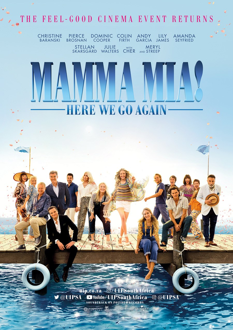 MAMMA MIA: HERE WE GO AGAIN now showing at Cavendish Square