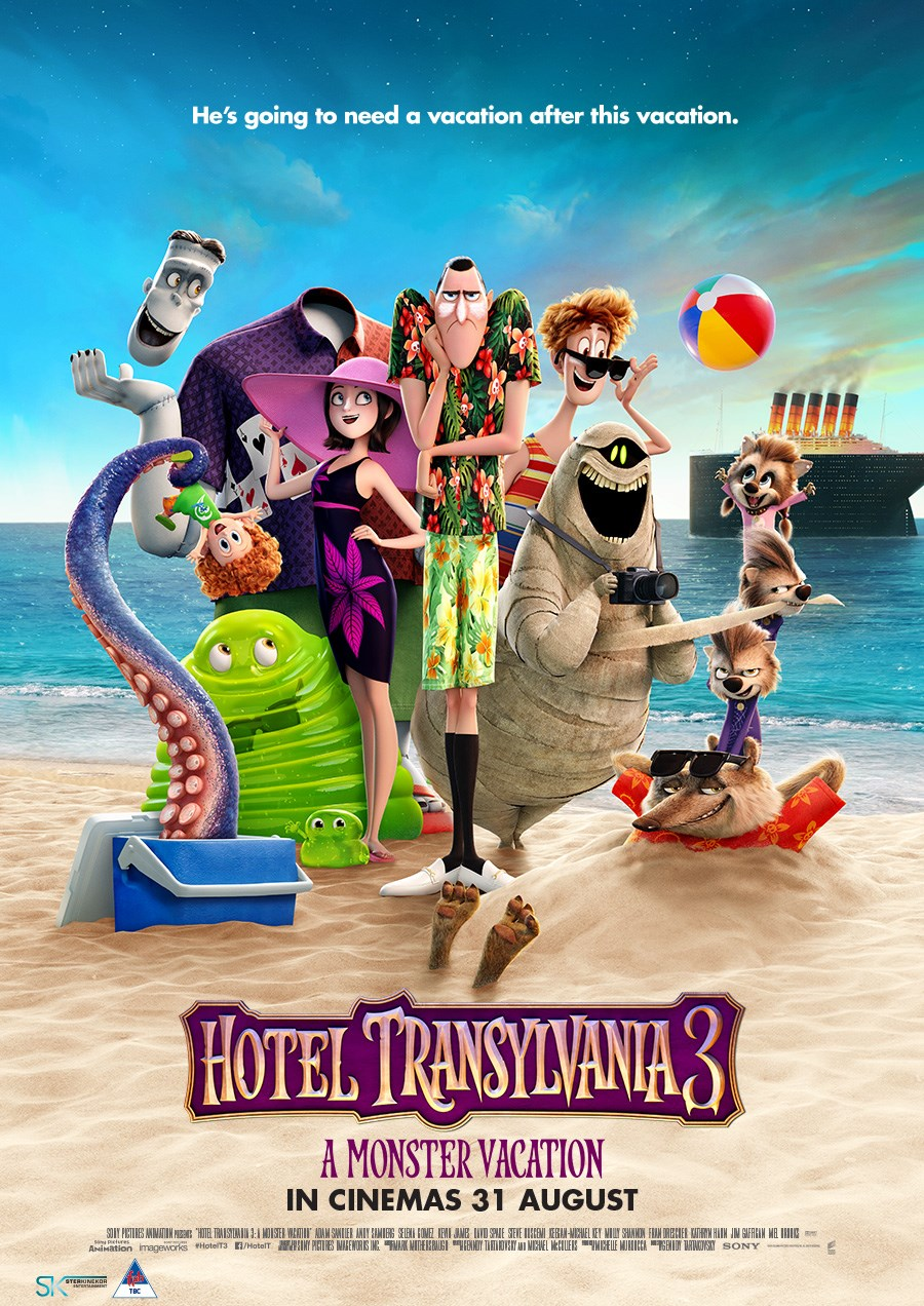 HOTEL TRANSYLVANIA 3: MONSTER VACATION now showing at Cavendish Square