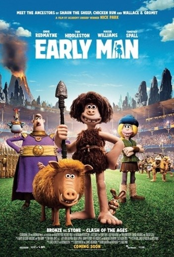 EARLY MAN now showing at Cavendish Square