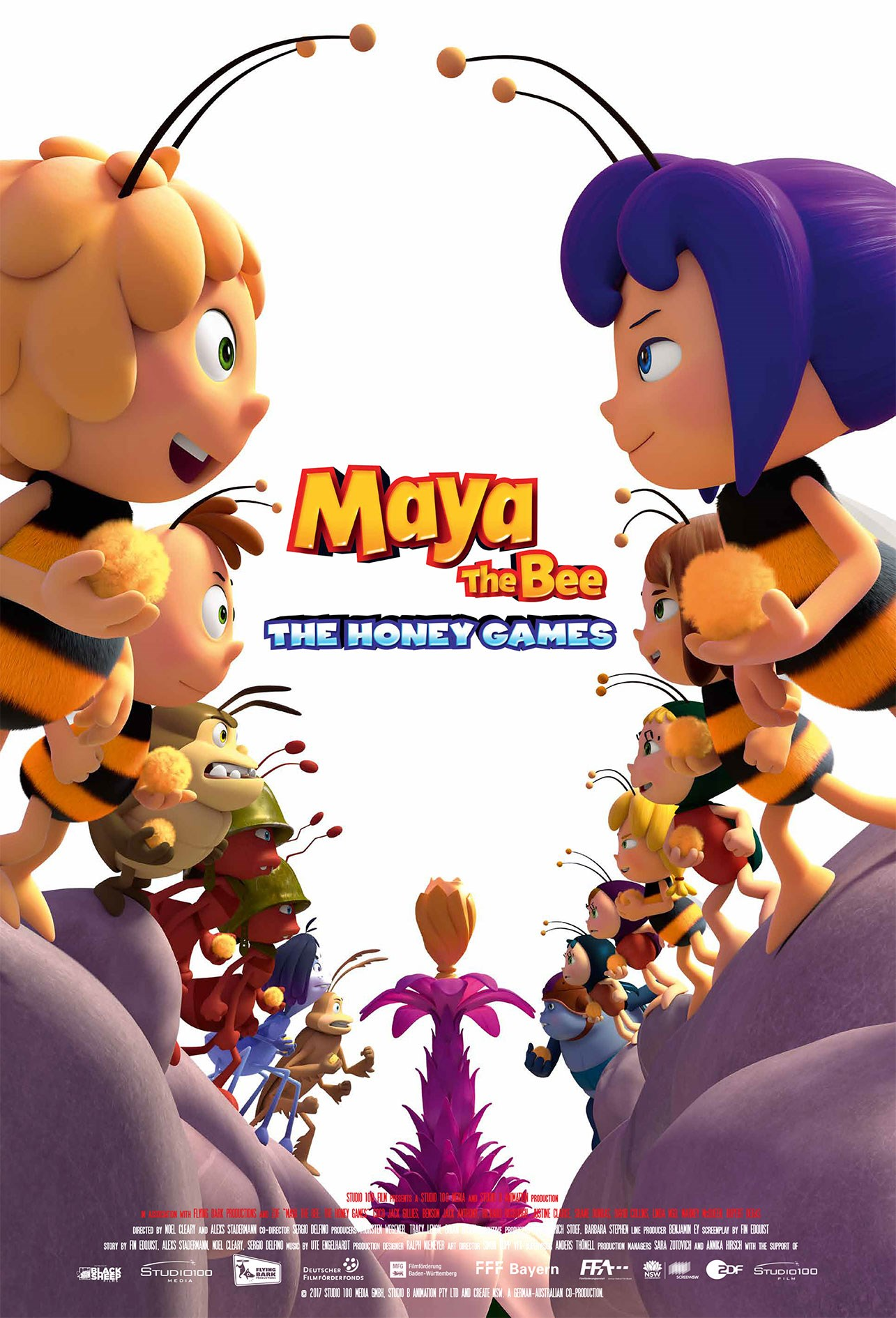 MAYA THE BEE  - THE HONEY GAMES now showing at Cavendish Square