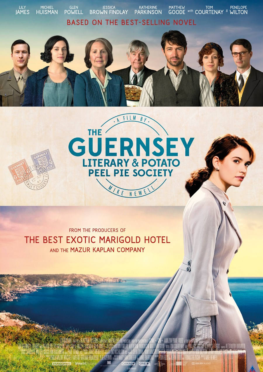 GUERNSEY LITERARY & POTATO PEEL SOCIETY now showing at Cavendish Square