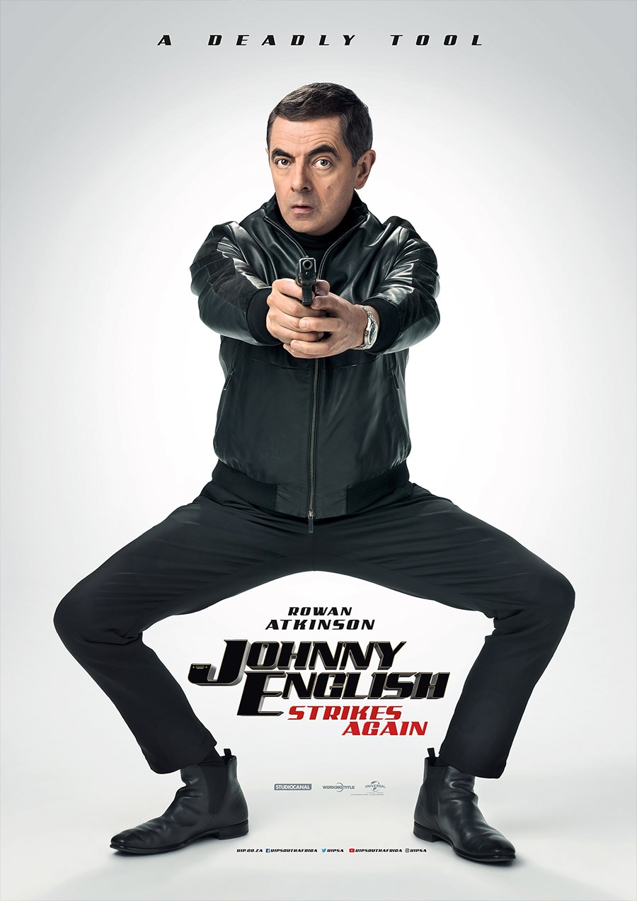 JOHNNY ENGLISH STRIKES AGAIN now showing at Cavendish Square
