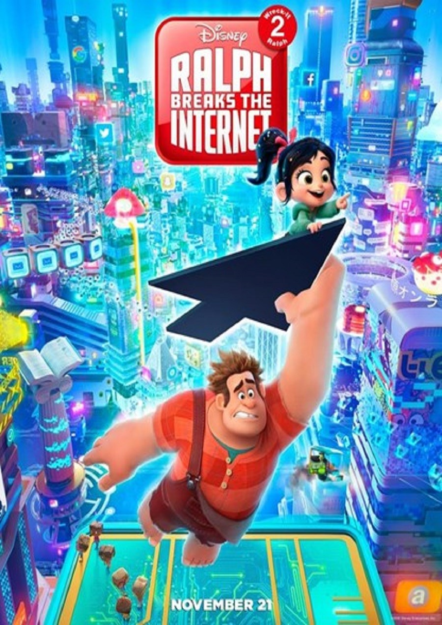 RALPH BREAKS THE INTERNET now showing at Cavendish Square
