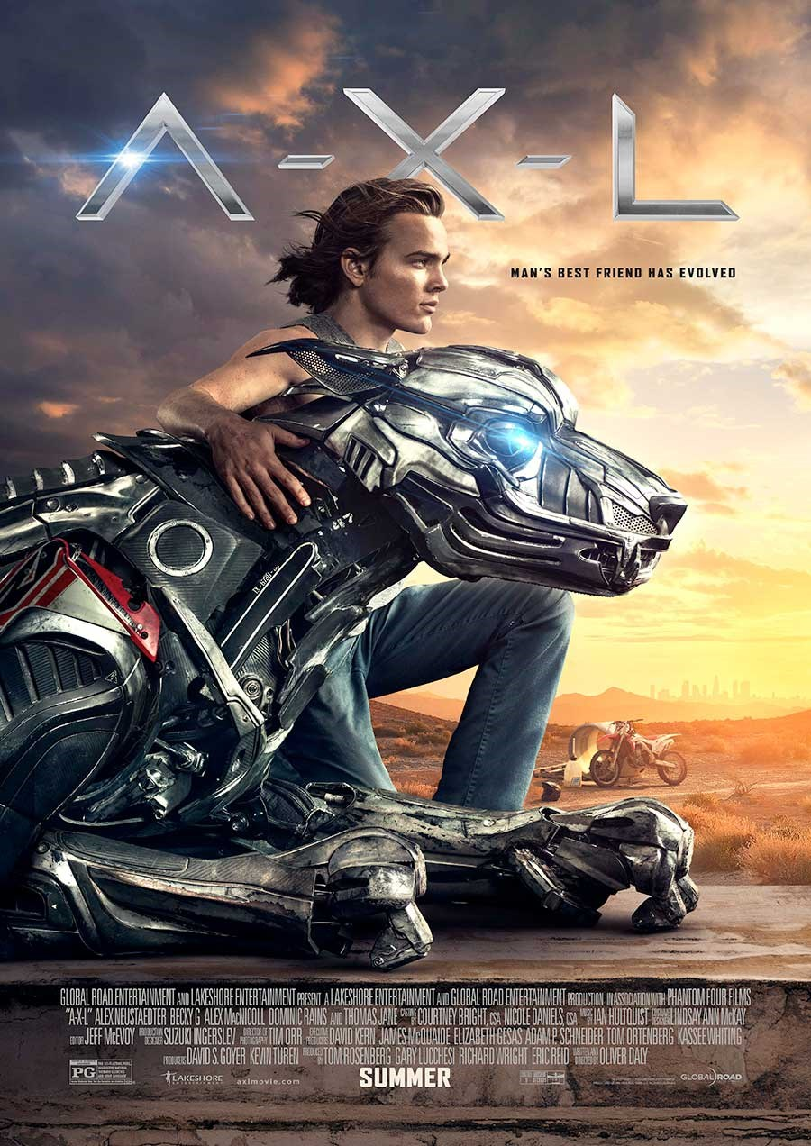 A.X.L now showing at Cavendish Square