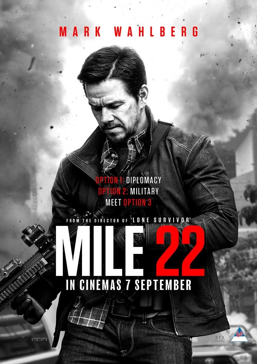 MILE 22 now showing at Cavendish Square