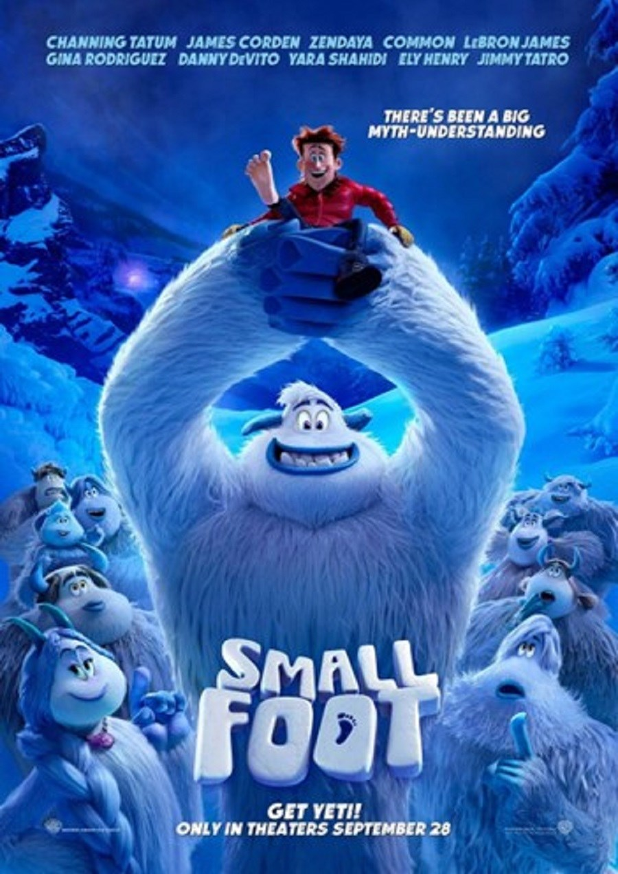 SMALLFOOT now showing at Cavendish Square
