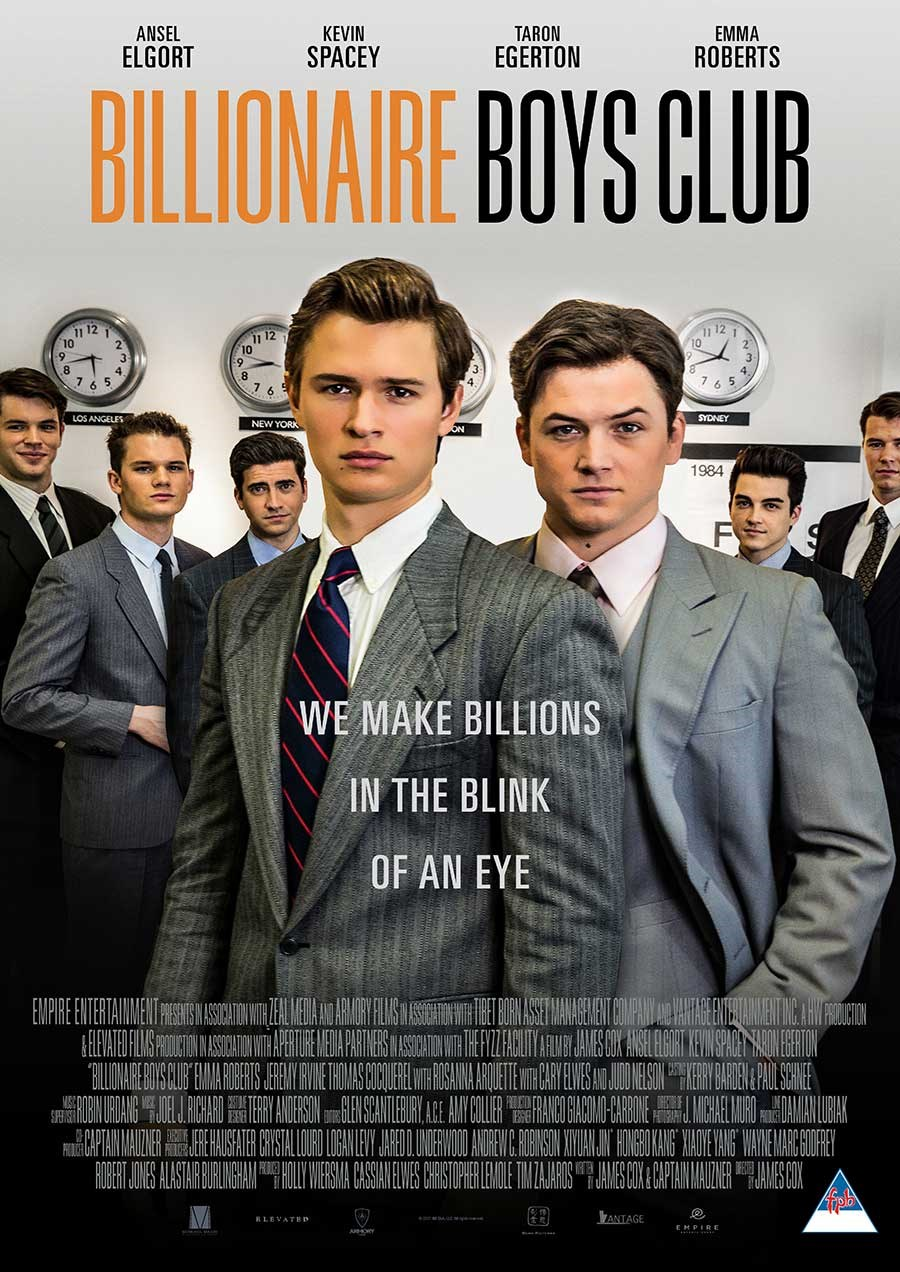 BILLIONAIRE BOYS CLUB now showing at Cavendish Square
