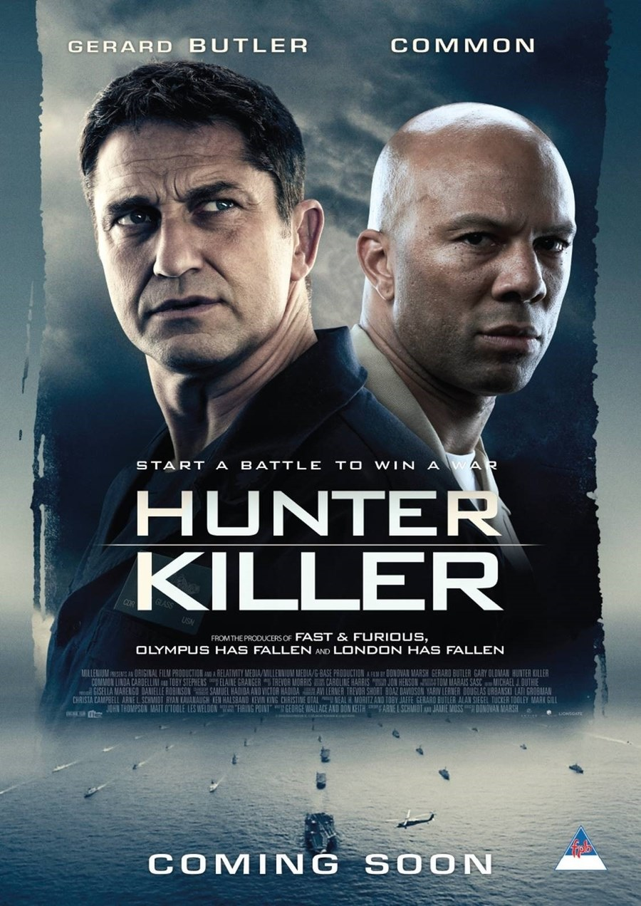 HUNTER KILLER now showing at Cavendish Square