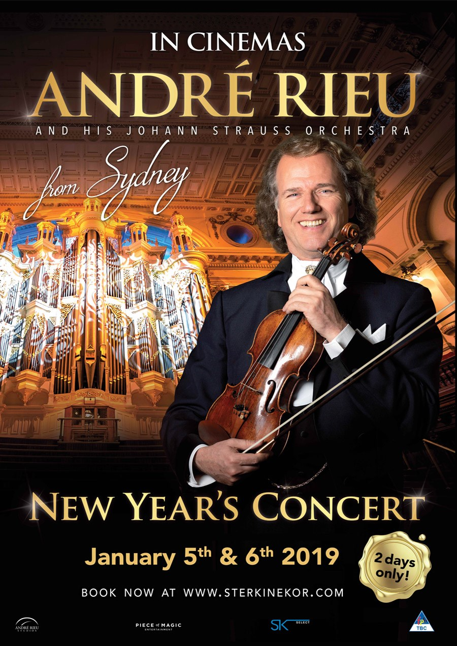 ANDRE RIEU NEW YEAR'S CONCERT 2019